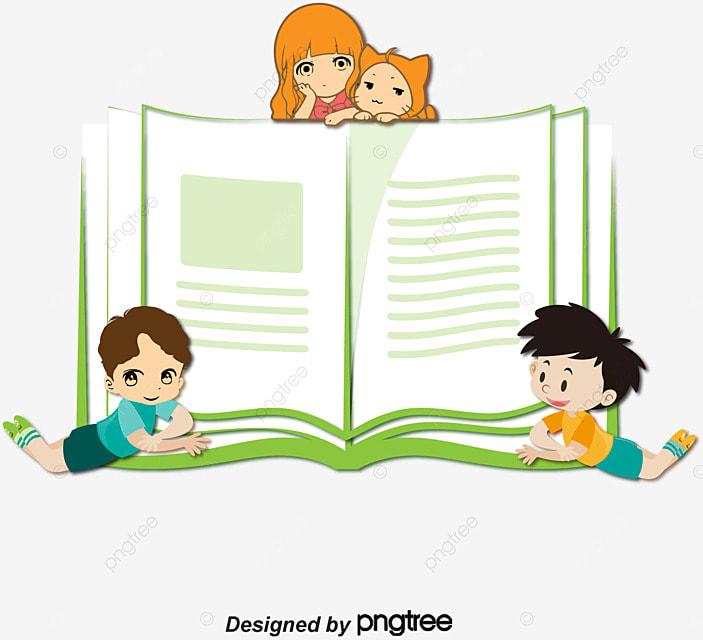 libros para ninos vector