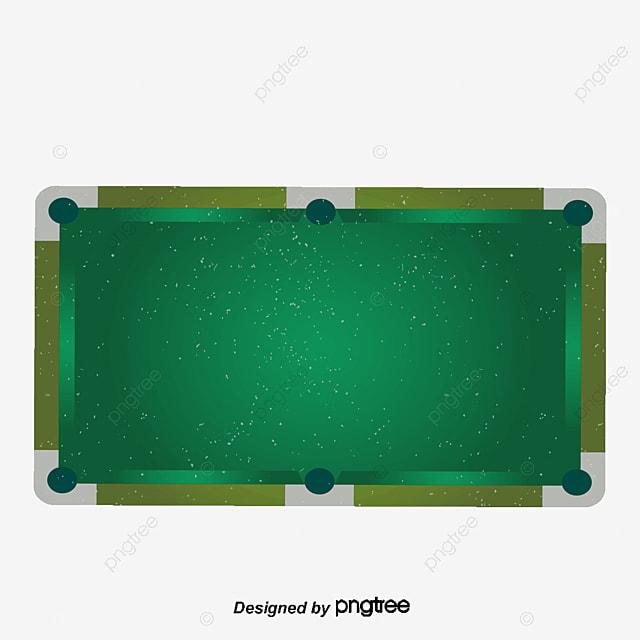 vector mesa de billar verde snooker decoracion png y