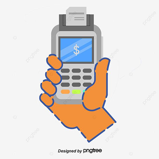 Hand card machine business credit card machine cartoon png and hand card machine business credit card machine cartoon png and psd colourmoves