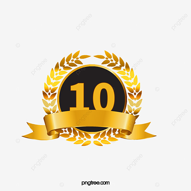 the number of wheat ornaments 10 gold number 10 wheat decoration