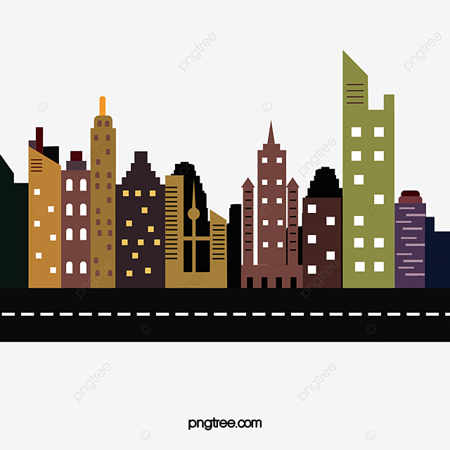 high rise building vector high rise building bustling png image rh pngtree com building vector icon building vector logo