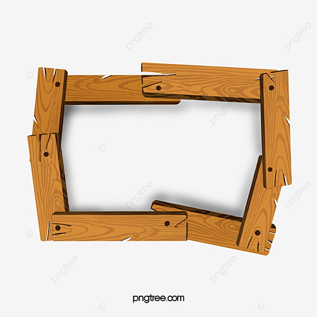 Rivet Link Wood Frame, Wood Vector, Frame Vector, Vector