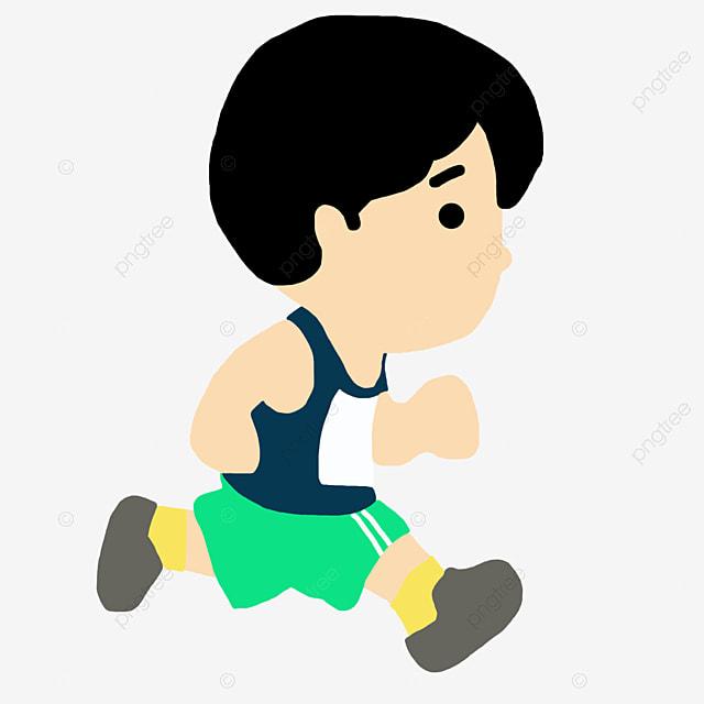 les enfants courir courir dessin courir image png pour le