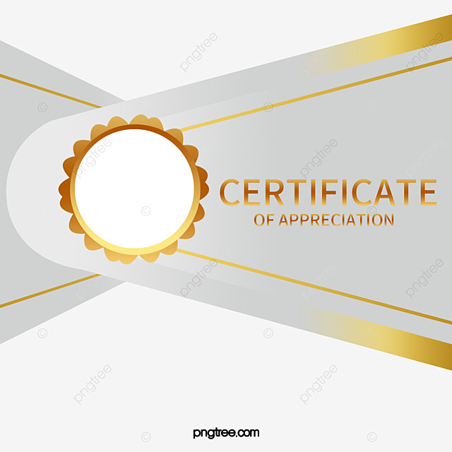 Silver Certificate Template Certificate Golden Rice Medal Honor