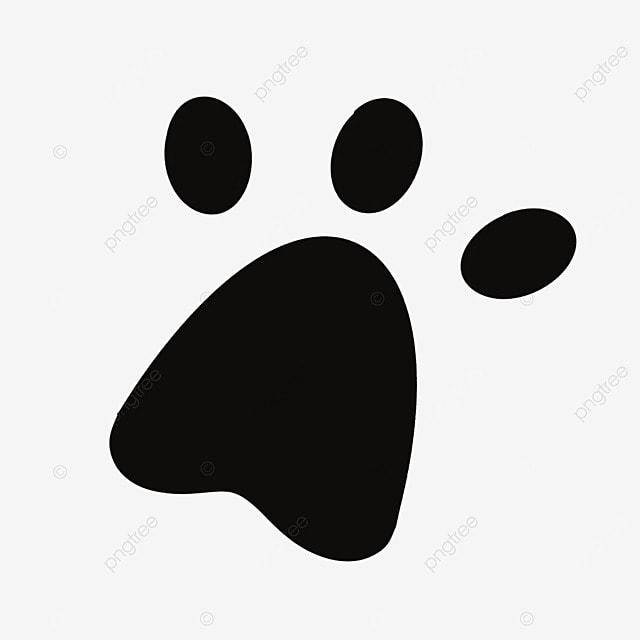 ناقلات آثار أقدام الحيوانات مخلب ناقلات الحيوانات مخطط متجه Png وملف Psd للتحميل مجانا