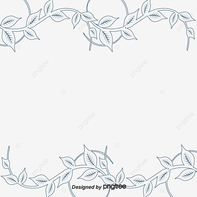 simple and elegant leaf borders simple and elegant tree