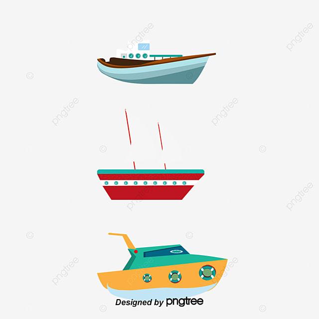 color cartoon sailboat freight ship vector cartoon vector png and rh pngtree com cargo ship vector free download ship logo vector free download