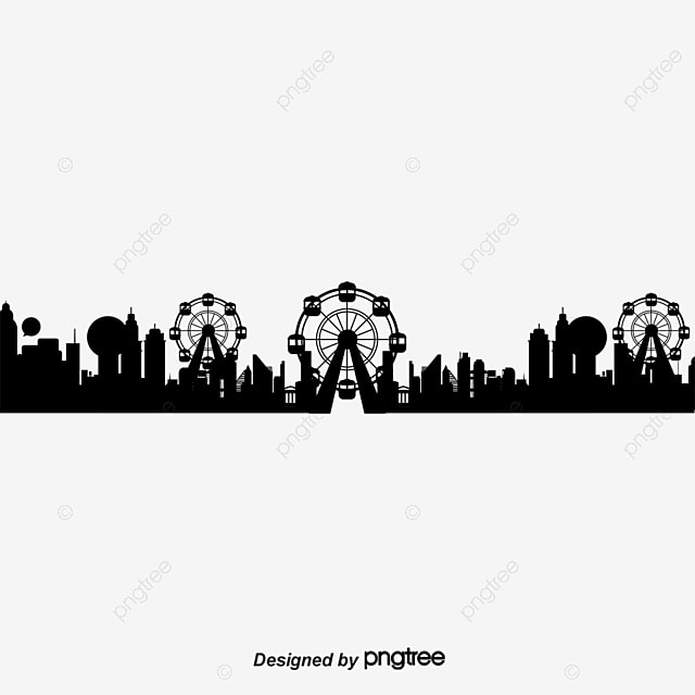 London City Silhouette Vector Material United Kingdom PNG And