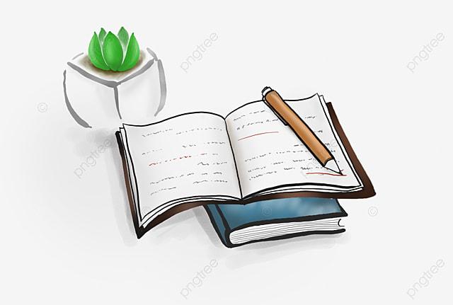 how to draw an open book cartoon
