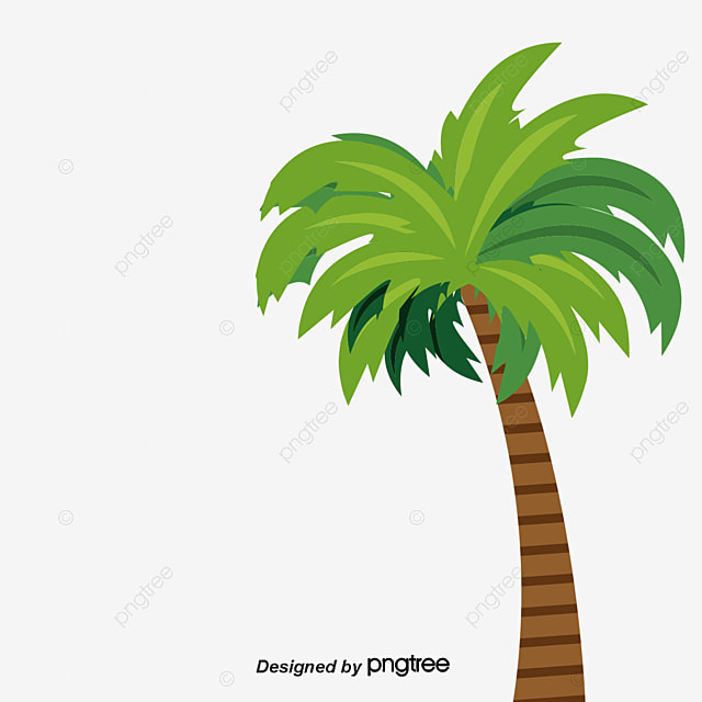 cartoon coconut tree pattern coconut clipart tree clipart cartoon rh pngtree com coconut tree clipart outline coconut tree clipart black and white