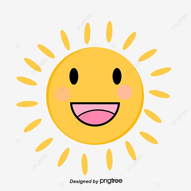 Vector Cartoon Sun Clipart Sunshine PNG And PSD