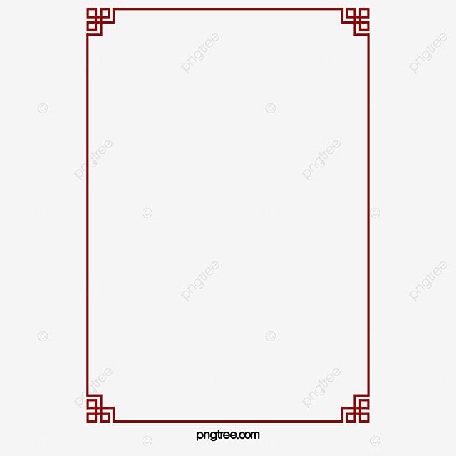 Tinta China Estilo Atmósfera Material Marco Estilo Chino Moderno ...