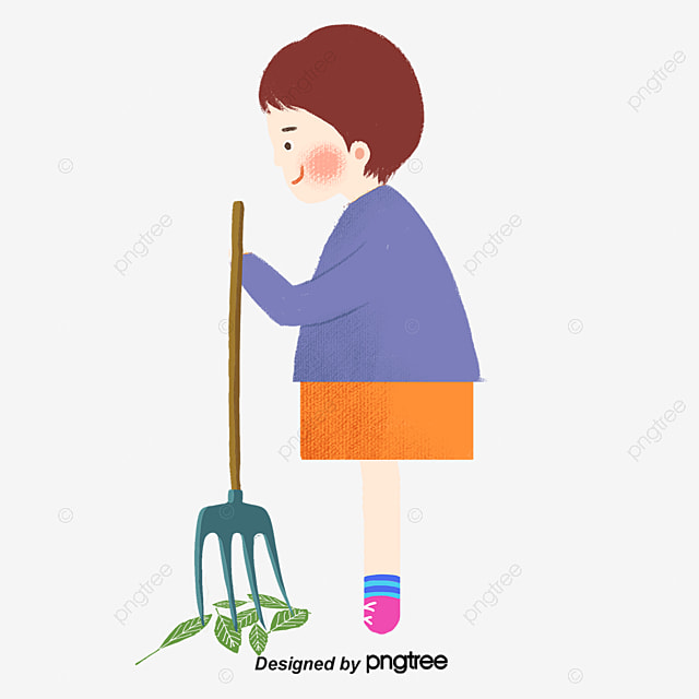 Sweeping People, Sweep The Floor, Character, Cartoon Free PNG And Vector