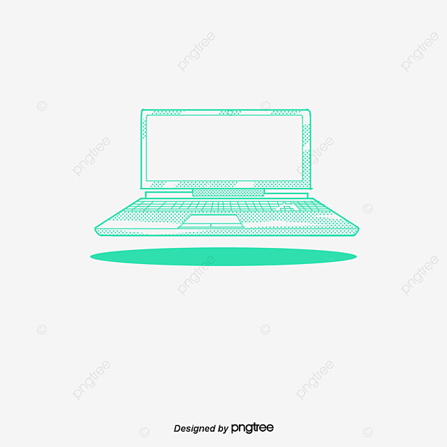 green laptop icon laptop clipart computer png image and