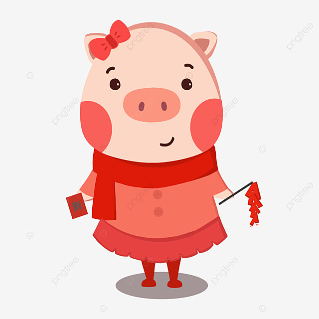 Dessin joli cochon cuisinier tablier cuisinier barbecue - Dessin cochon debout ...
