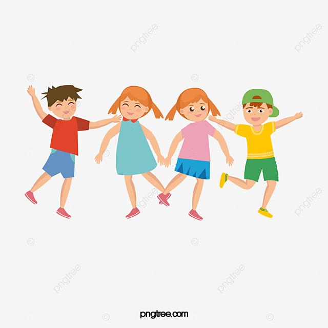 Vector Happy Children Children Clipart Student Child Png And