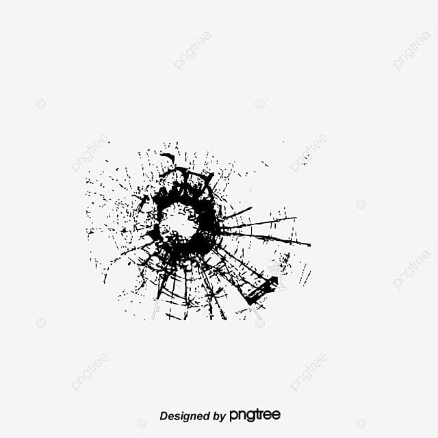 trou de verre balle cartoon le crack image png pour le t u00e9l u00e9chargement libre