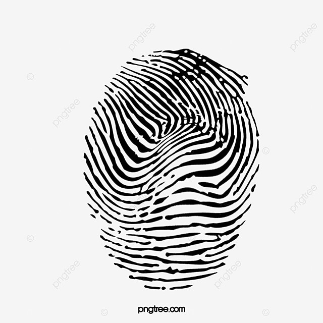 Fingerprint Vector Png