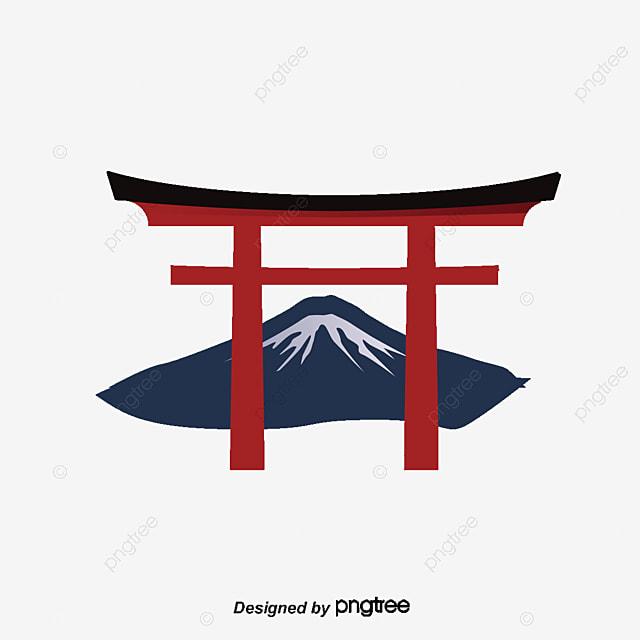 Japan Mount Fuji Vector Png Japanese Tourism Japan Tour