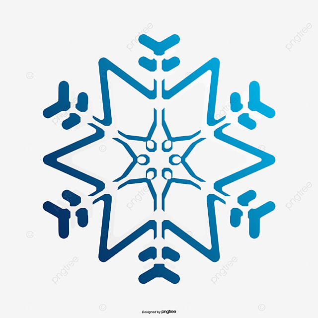 Blue Snowflakes Blue Vector Vector Png Snowflake Png And Vector