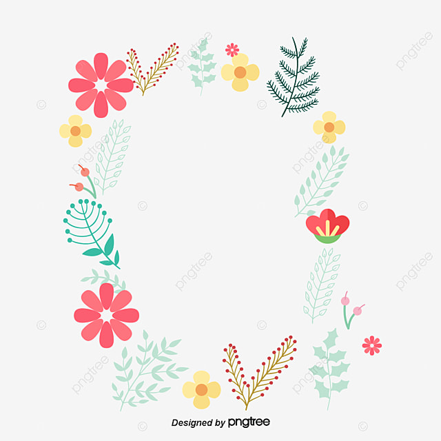 Small Fresh Cute Borders Vector Png Small Fresh Lovely