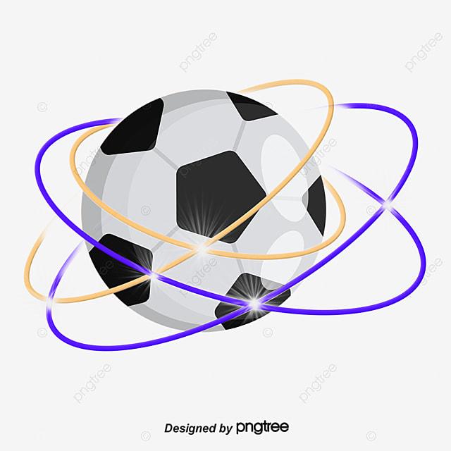 113c63dacdd71 Franjas De Color Surround Football Vector PNG Football Un Balón De ...