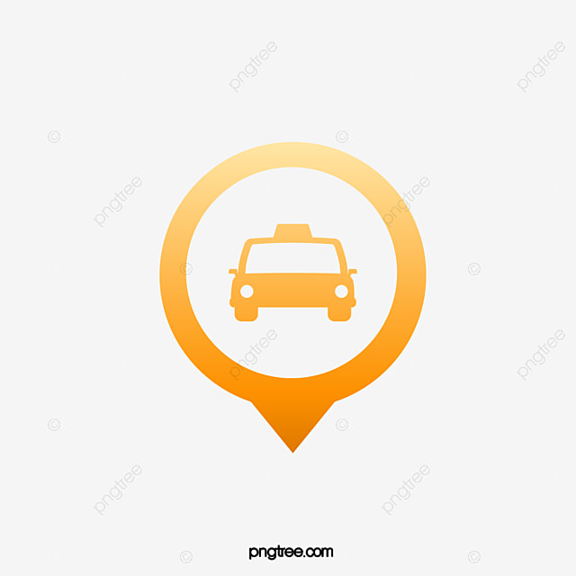Taxi Service Logo, Taxi Clipart, Logo Clipart, Yellow PNG