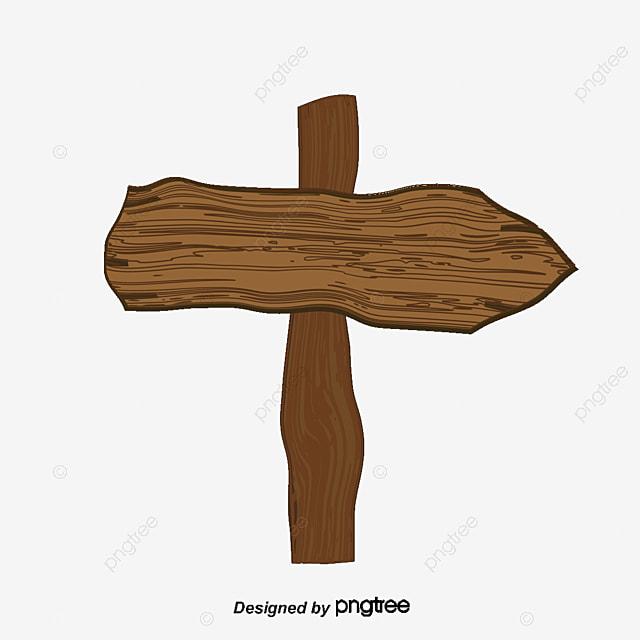 Wooden Arrow Indicator Cartoon Board Wood Lines PNG And Vector