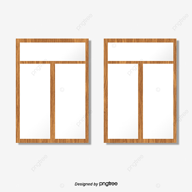 Glass window vector window wooden frame glass png and for Wooden window design with glass