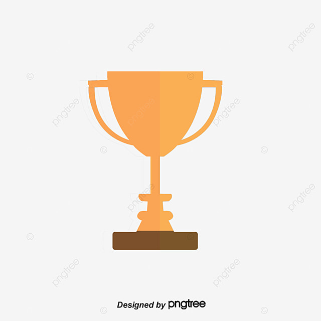 Vector Gold Trophy PNG And