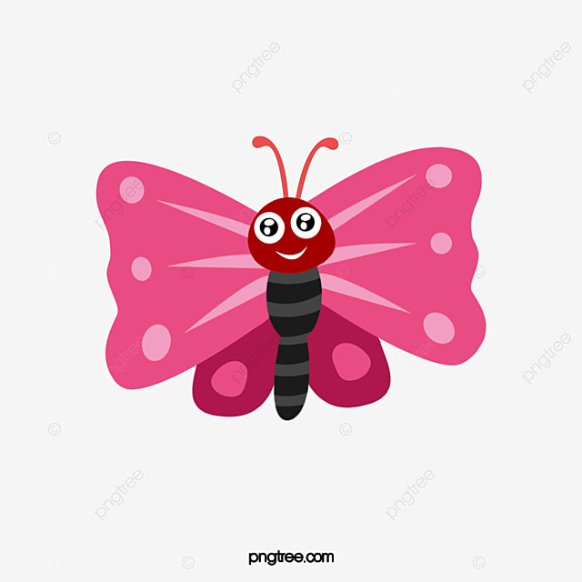 pink butterfly vector butterfly creative hand painted png and rh pngtree com butterfly vector graphic butterfly vector art free
