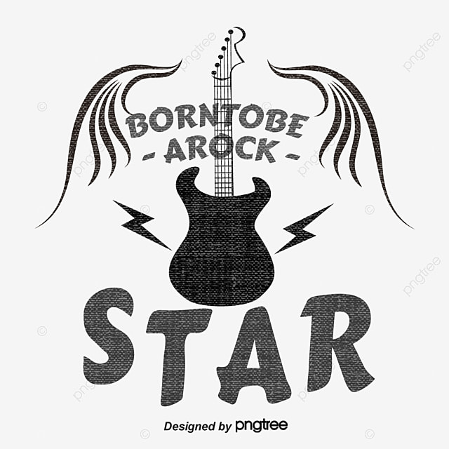 Vector black guitar poster black guitar vector png and vector