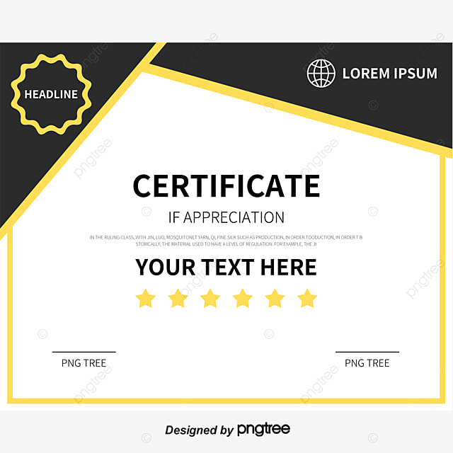 high end atmospheric grade gold border english certificate certificate template training certificate copyright complaint download the free