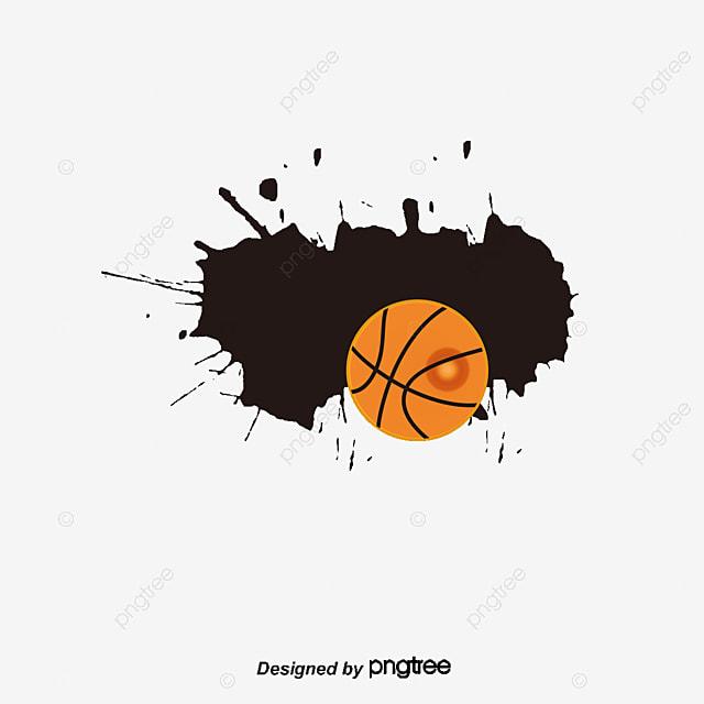 Basketball background basketball poster, Vector Png