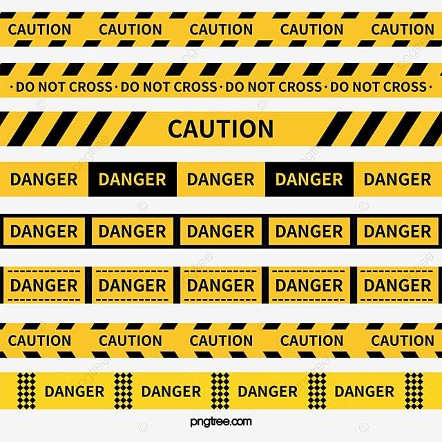 警戒ライン, 黄色警戒線, 黄黑警戒線, 黄黑あや織り画像とPSD素材 ...