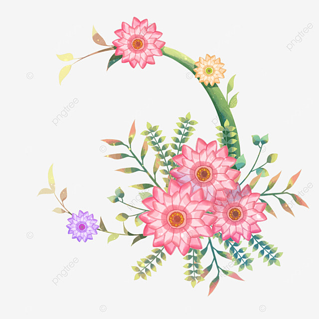 Cute Cartoon Pictures Of Flowers Flower Inspiration