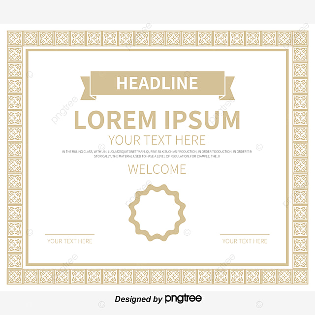 european pattern frame authorization certificate diploma  european pattern frame authorization certificate diploma training certificate certificate template png and vector