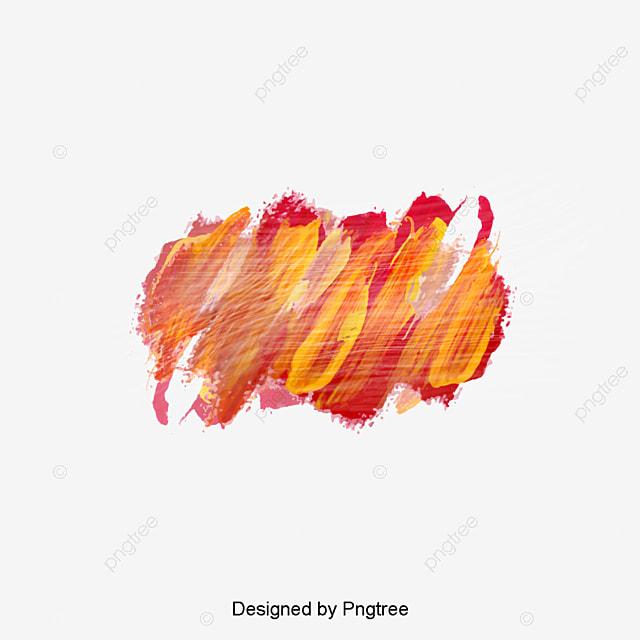Watercolor red graffiti brush, Vector Png, Watercolor Brush, Watercolor Graffiti PNG and Vector ...