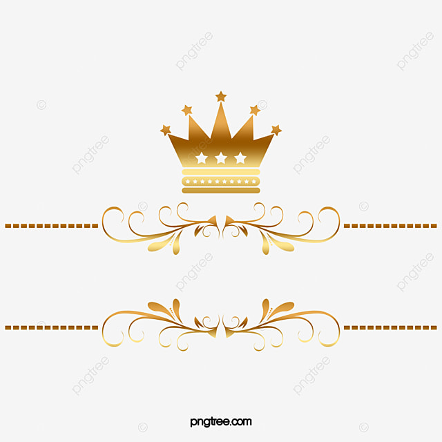 Golden Tree Rattan Crown Gold PNG Image And Clipart