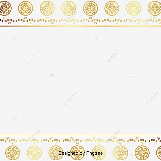 Vector Certificate Border Exquisite Pattern Gradient Certificate