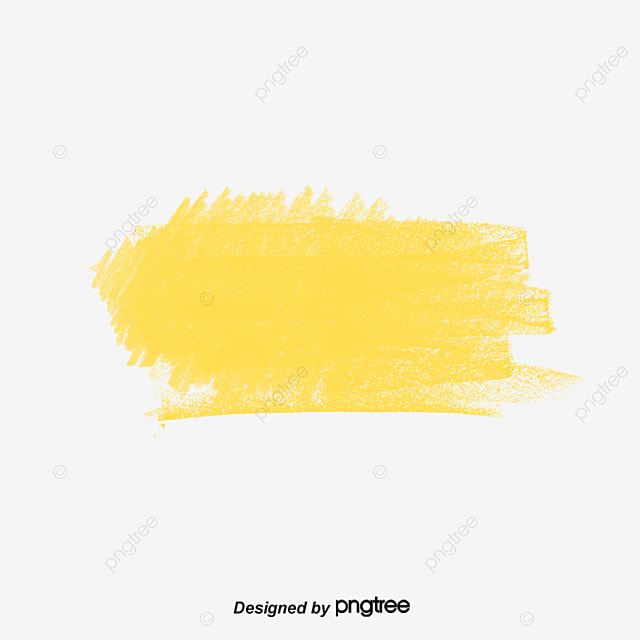 Yellow Green Paint Effect Vector Png Whitewash And
