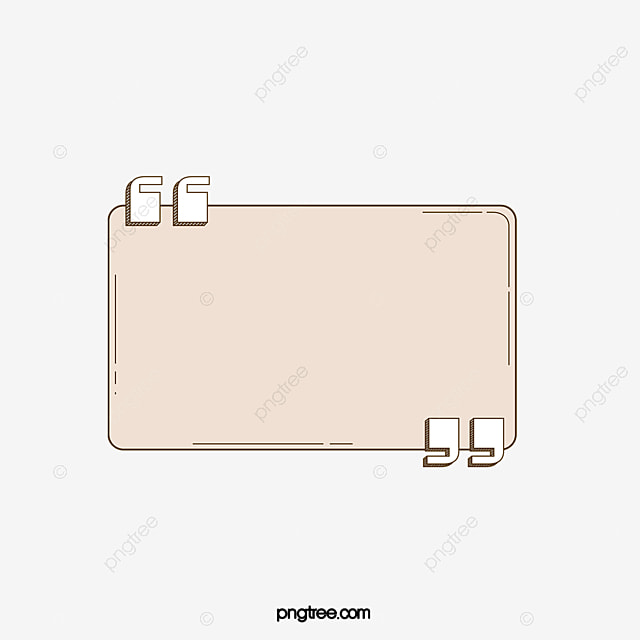 Rounded Rectangle Reference Box Vector Png Quotes Reference Box PNG And Vector For Free Download