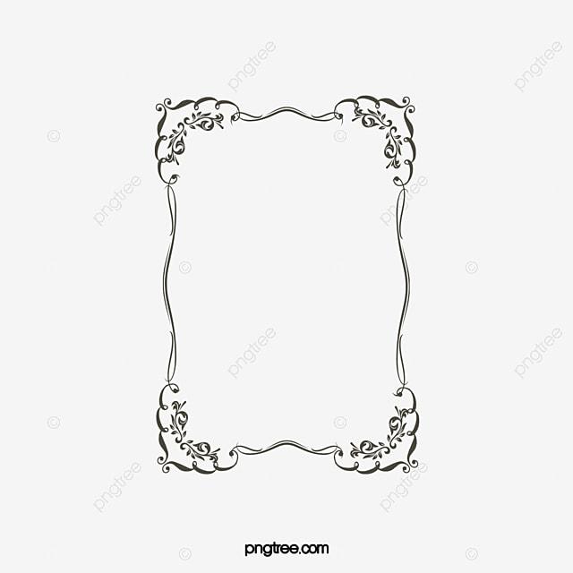 cadre transparent un cadre vertical dessin de cadre