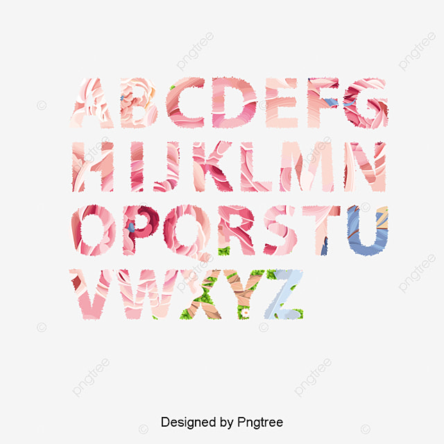 cute letters fine letters english alphabet png and vector for free