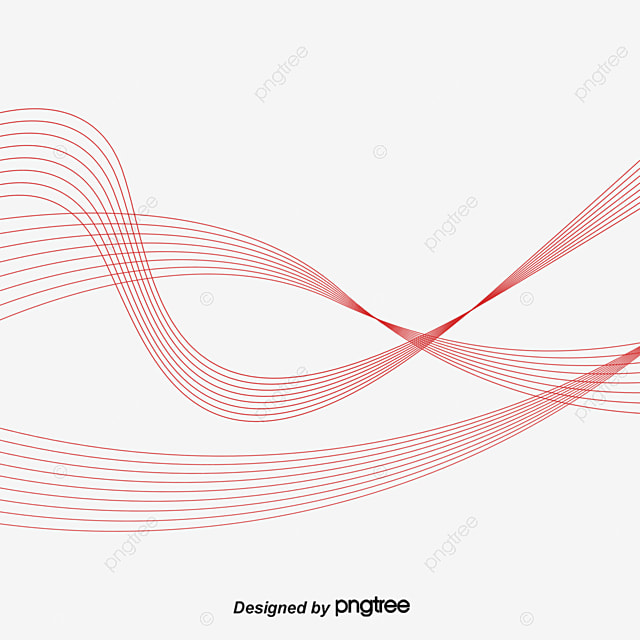 blue wavy line radian line soft lines soft curve png and vector