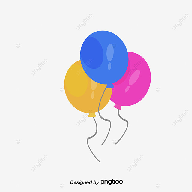 three colored balloons  vector png  balloon  color balloon png and vector for free download clip art piggy clip art pig bbq