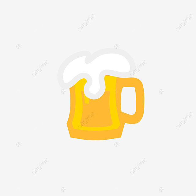 One Line Art Beer : Cartoon beer clipart png