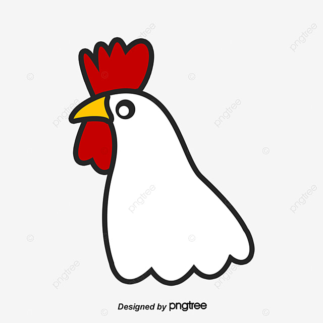 rooster head clip art - 650×728