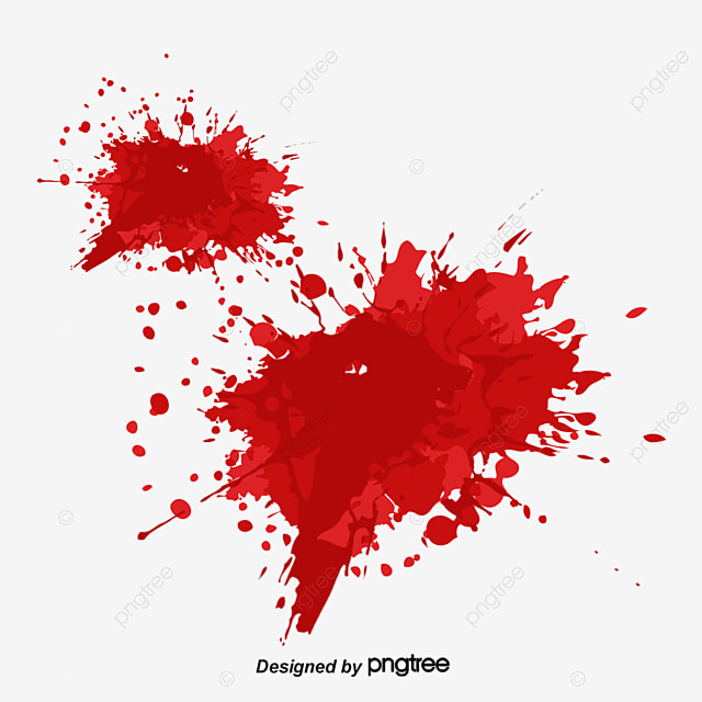 cartoon splashes of blood blood blood blood png and vector for rh pngtree com cartoon blood splatter gif Blood Splatter Art
