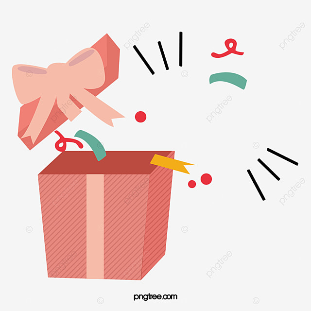Open Gift Box Png Vector Psd And Clipart With